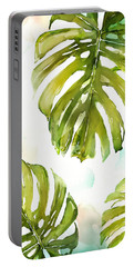 Palm Frond Portable Battery Chargers