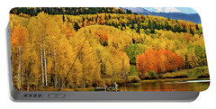 Colorful Peaceful Colorado Portable Battery Charger