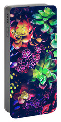 Colorful Plants  Portable Battery Charger