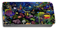 Colorful Reef Portable Battery Charger