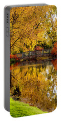 Colorful Reflections Portable Battery Charger by Kristal Kraft