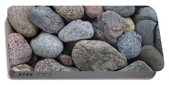 Portable Battery Charger featuring the photograph Colorful Rocks by Richard Bryce and Family