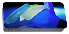 Colorful Sea Glass Portable Battery Charger