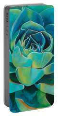 Colorful Succulent Portable Battery Charger