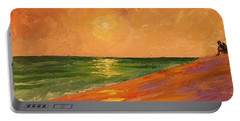 Colorful Sunset Portable Battery Charger
