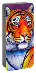 Fiery Beauty - Colorful Bengal Tiger Portable Battery Charger