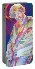 Colorful Trey Anastasio Portable Battery Charger by Joshua Morton