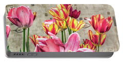 Colorfull Tulips Portable Battery Charger