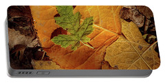 Portable Battery Charger featuring the photograph Colors Of Autumn by Marie Leslie