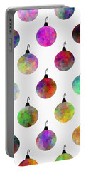 Colors Of Christmas - Pattern Portable Battery Charger
