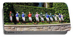 Colors Of Past Stakes At Keeneland Ky Portable Battery Charger by Chris Smith