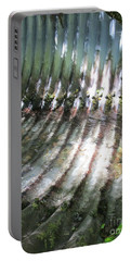 Portable Battery Charger featuring the photograph Colors Of The Culvert by Marie Neder