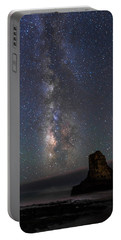 Portable Battery Charger featuring the photograph Colors Of The Night by Alex Lapidus