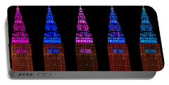 Colors Of The Terminal Tower Portable Battery Charger