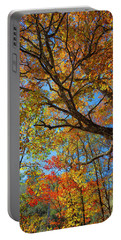 Colors On High Portable Battery Charger by John M Bailey