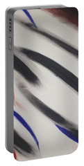 Portable Battery Charger featuring the painting Abstract Colors by Sheila Mcdonald