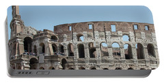 Colosseum In Rome Day  Portable Battery Charger