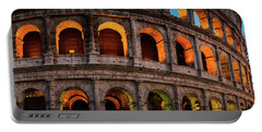 Colosseum In Rome, Italy Portable Battery Charger