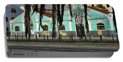 Colourful Houses.tourism In Lisbon Portable Battery Charger