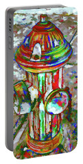 Colourful Hydrant Portable Battery Charger