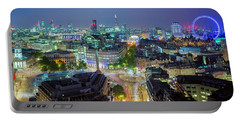 Colourful London Portable Battery Charger