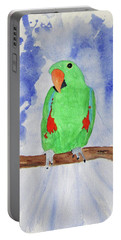 Female Parrot Portable Battery Charger