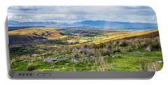 Colourful Undulating Irish Landscape In Kerry  Portable Battery Charger by Semmick Photo