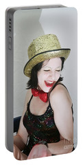 Columbia During A Rhps Performance 1 Portable Battery Charger