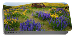 Columbia Hills Wildflowers Portable Battery Charger