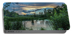 Columbia Marsh Sunset Portable Battery Charger