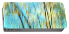 Portable Battery Charger featuring the photograph Columbia River Abstract by Theresa Tahara