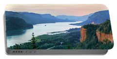 Columbia River With Vista House Portable Battery Charger