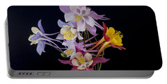 Portable Battery Charger featuring the photograph Columbine Medley by Gary Lengyel