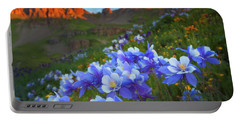 Columbine Sunrise Portable Battery Charger