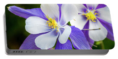 Columbines Inside Portable Battery Charger