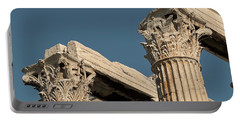 Columns Of Greece Portable Battery Charger