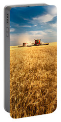 Combines Cutting Wheat Portable Battery Charger