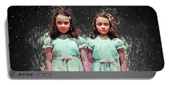 Come Play With Us - The Shining Twins Portable Battery Charger