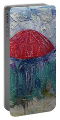 Come Rain Or Snow Portable Battery Charger