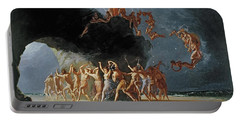 Come Unto These Yellow Sands Portable Battery Charger by Richard Dadd