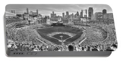 Comerica Park Portable Battery Charger by Nicholas  Grunas