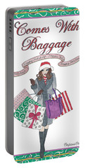 Comes With Baggage - Holiday Portable Battery Charger