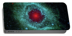 Comets Kick Up Dust In Helix Nebula  Portable Battery Charger