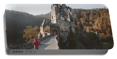 Coming Home Portable Battery Charger by JR Photography