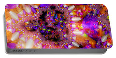 Portable Battery Charger featuring the digital art Coming Home by Robert Orinski