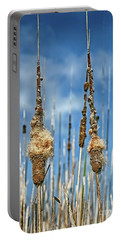 Common Cattail Seeds Portable Battery Charger