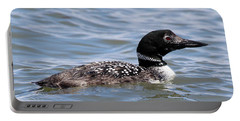 Common Loon Port Jefferson New York Portable Battery Charger