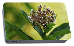 Portable Battery Charger featuring the photograph Common Milkweed by Paul Mashburn