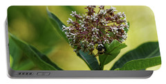 Common Milkweed Portable Battery Charger by Paul Mashburn
