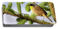 Common Yellow-throat Portable Battery Charger